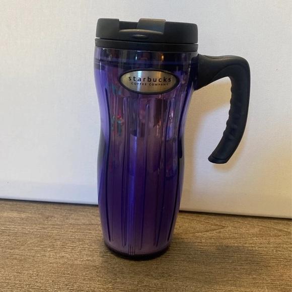 STARBUCKS Barista Travel Mug w/handle - 2002 -